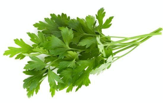 Parsley for detox
